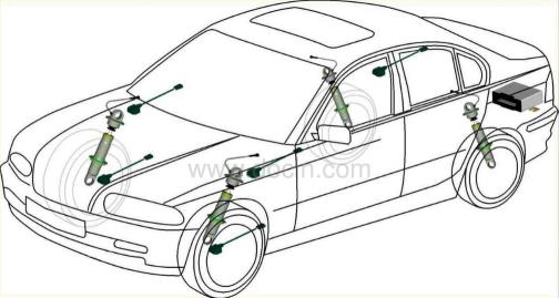 连续可变阻尼控制悬架控制系统的工作原理及故障诊断